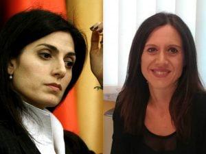Virginia Raggi, Monica Lozzi