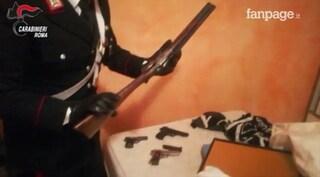 Droga, armi ed esplosivi in una villa alle porte di Roma: scoperto covo di rapinatori