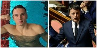 """Manuel Bortuzzo, parla Matteo Renzi: """"Salvini utilizzi il pugno duro a Ostia"""""""