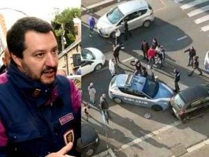 Poliziotti accerchiati a Tor Bella Monaca