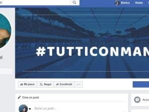 La pagina Facebook creata dalla Fin per Manuel Bortuzzo