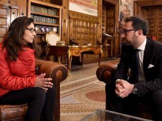 """Caso Vannini, il ministro Alfonso Bonafede incontra la mamma di Marco: """"Vi sono vicino"""""""