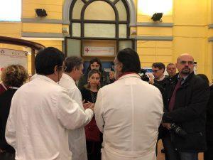 Il blitz della ministra Giulia Grillo al Pronto Soccorso del Policlinico Umberto I di Roma