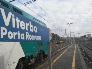 La stazione di Porta Romana, a Viterbo. [Foto / Google Maps]