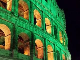 Roma, domenica 17 marzo 2019 il Colosseo illuminato di verde per San Patrizio
