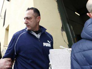 Marcello De Vito entra nel carcere di Regina Coeli