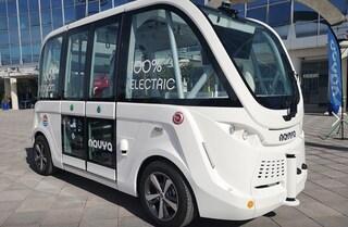 Atac presenta il bus del futuro: 100% elettrico e senza conducente