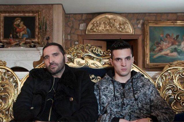 Manfredi Anacleti (Adamo Dionisi) e Alberto 'Spadino' Anacleti (Giacomo Ferrara)