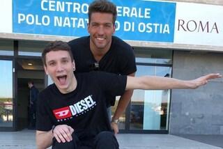 """Manuel Bortuzzo e la foto con Gabriele Detti: """"Pronti a tornare"""""""