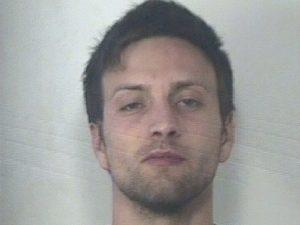 Christian Liuzzi all'epoca dell'arresto per gambizzazione