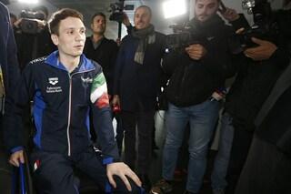 """Manuel Bortuzzo alla stampa: """"Mi dicono sei un eroe, ma sono solo me stesso"""""""