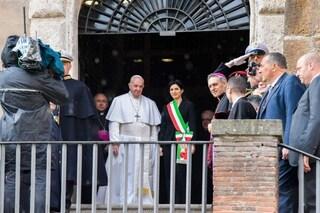 Papa Francesco in Campidoglio: strade chiuse, varchi attivi, piazza Venezia blindata