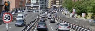 Chiusa la Tangenziale Est per l'allagamento di una galleria: traffico impazzito