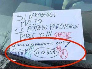 Tutorial per un parcheggio 'giusto'