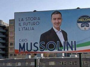 Caio Mussolini, candidato alle prossime Elezioni europee con Fratelli d'Italia