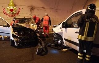 Incidente sulla via Salaria a Rieti, scontro tra due auto: un morto