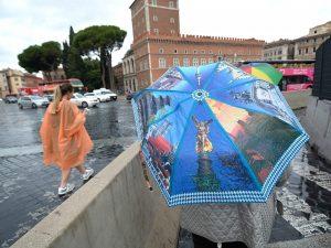 pioggia a Roma – foto di repertorio
