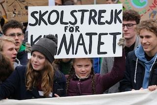Greta Thunberg a Roma per la manifestazione del 19 aprile: e forse incontrerà Papa Francesco