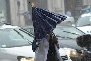 Allerta meteo su Roma e il Lazio per lunedì 12 ottobre: attesi violenti temporali