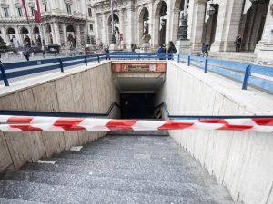 Metro Repubblica chiusa