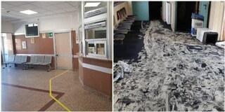 Roma, riaperto l'ospedale Villa San Pietro dopo l'incendio: attivi tutti i servizi d'emergenza