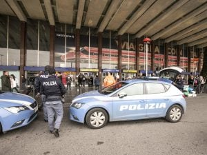 La stazione di Roma Termini dove è avvenuto l'arresto. [Foto di repertorio]