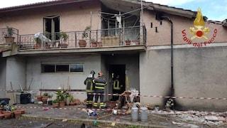 Canale Monterano (Roma), esplode una villetta per una fuga di gas: ferita donna di 87 anni