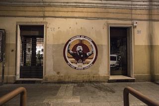 Testaccio, spunta un murales dedicato a Daniele De Rossi e contro James Pallotta