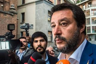 """Casal Bruciato, Matteo Salvini sugli insulti ai rom: """"Violenza non è mai giustificata"""""""