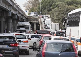 Incidenti stradali questa mattina a Roma: traffico e strade chiuse