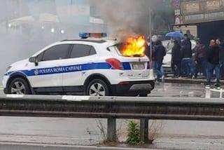 Lazio, mercoledì la volante incendiata: ora gli Irriducibili educano alla sicurezza stradale