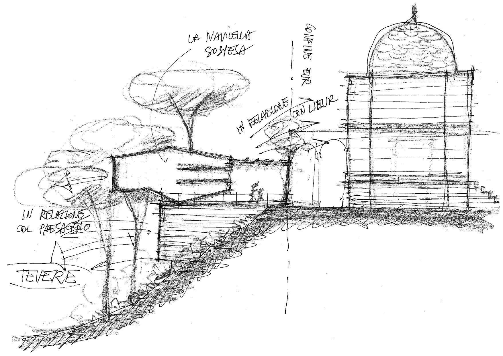 Il concept del nuovo edificio