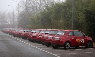Roma, sei auto Enjoy in fiamme in pochi giorni: la procura indaga per terrorismo