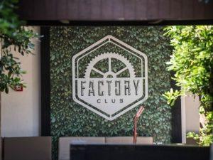 L'entrata del Factory Club a Roma