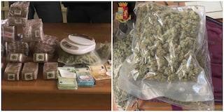 San Basilio, arrestata coppia di spacciatori: in casa 100 panetti di hashish e 15mila euro