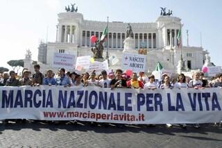 Dagli ultracattolici all'estrema destra, sabato 18 maggio la Marcia per la Vita sfila nella capitale