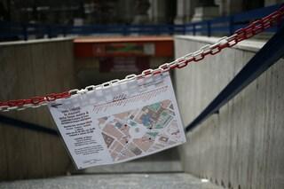 """Metro Repubblica, almeno altri due mesi per la riapertura. I commercianti: """"Danno incredibile"""""""