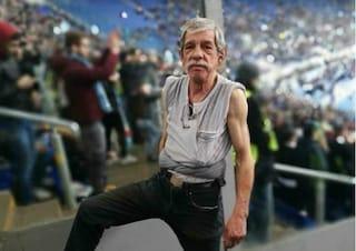 Cacciato dallo stadio Olimpico di Roma lo storico 'nocciolinaro'