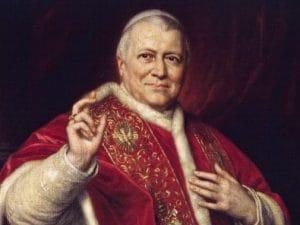 Ritratto di Pio IX realizzato da George Peter Alexander Healy (1808–1894), e conservato a Senigallia.