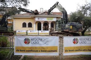 Roma, inaugurato Parco della Legalità: sorge al posto di una villa dei Casamonica abbattuta