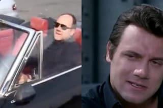 Carlo Verdone ritrova la mitica Fiat Dino di Enzo in 'Un Sacco Bello'