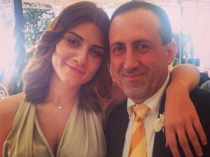 Emanuele Crestini con la fidanzata, Veronica Cetroni