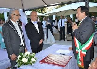 Rocca Di Papa, Emanuele Crestini celebrò la prima unione gay della provincia di Roma