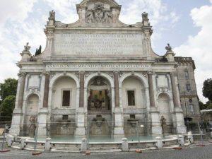 Iniziati i lavori di restauro al Fontanone del Gianicolo