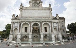 Fendi finanzia il restauro del Fontanone del Gianicolo: iniziati i lavori