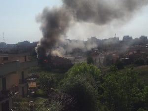 Esplosione in una villetta alla Massimina, Roma