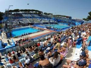 I mondiali di nuoto Roma 2009 al Foro Italico