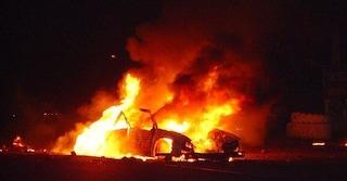 Ciampino: scooter e auto incendiati nella notte, le fiamme svegliano i residenti