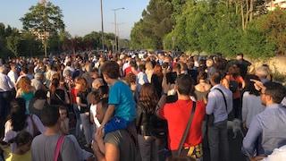 Emergenza rifiuti, in centinaia alla manifestazione a Talenti contro il sito ad Ave Ninchi
