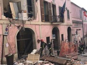 Esplosione a Rocca di Papa